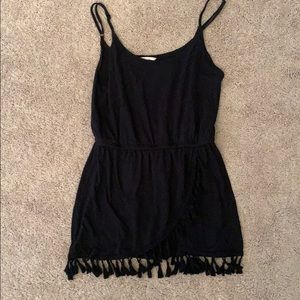 Victoria secret black bathing coverup